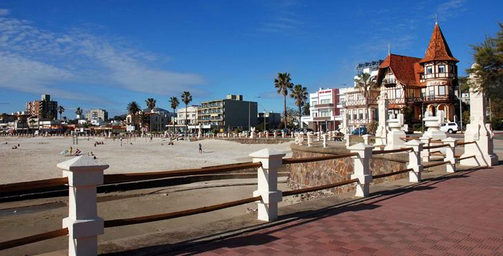 playa polaris estilo europeo en uruguay