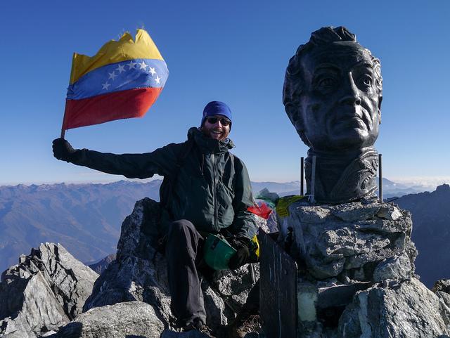 PICO DE BOLIVAR VENEZUELA