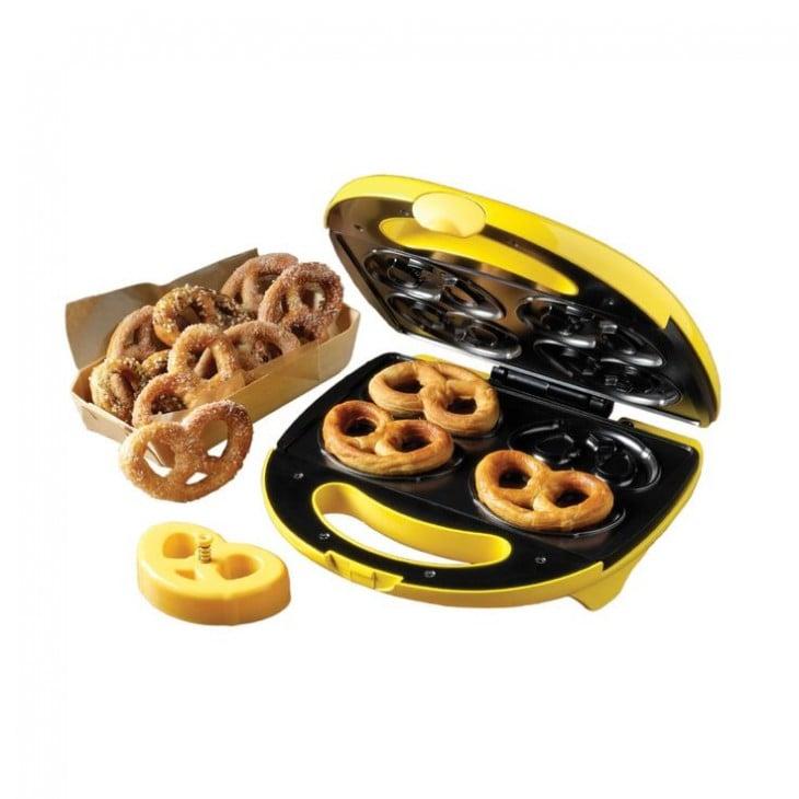 Waflera para pretzels