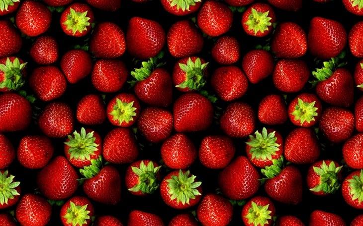 fresas de hoy todas cultivadas
