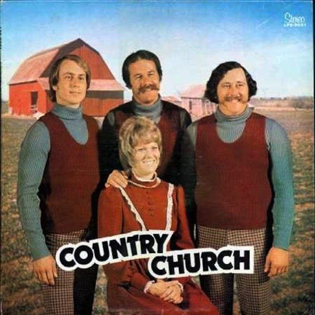 banda rara y ridicula country church
