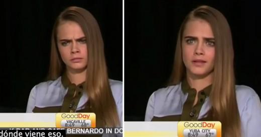 Cara delavigne fue ridiculizada y ella respondio de la mejor manera