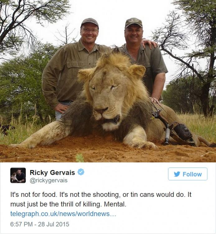 cecil el leon asesinado junto a sus cazadores