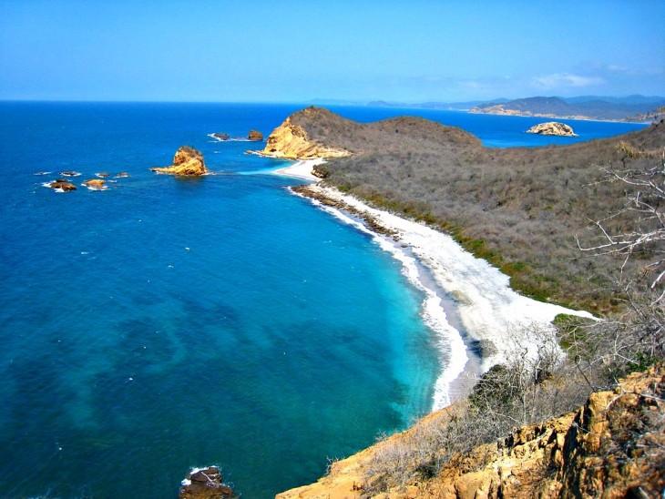 machalulla ecuador parque nacional que alberga las más bellas playas del país