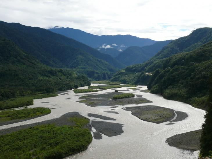 Rio Pastraza ecuador