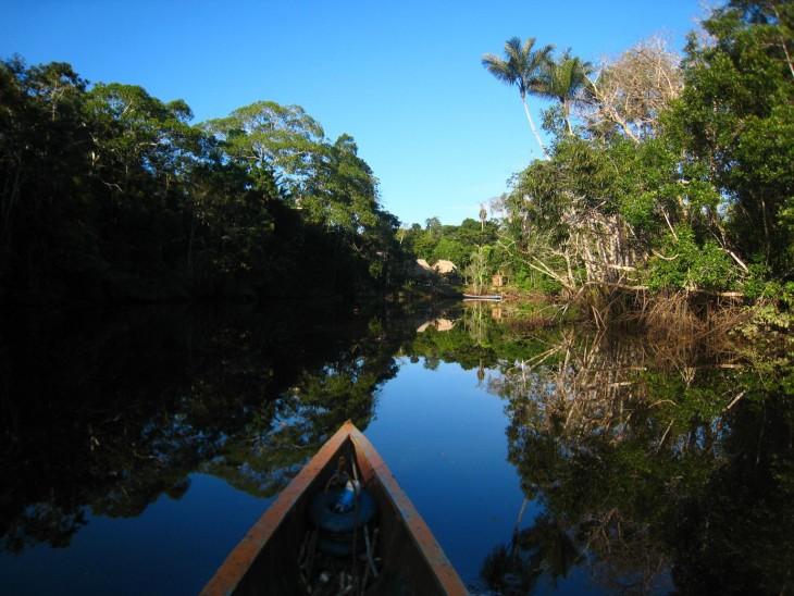 isla cubayeno, amazonía del Ecuador