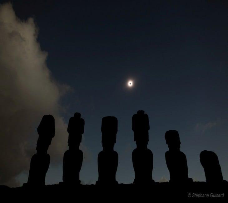 las cabezas moai han sido para la investigación paranormal