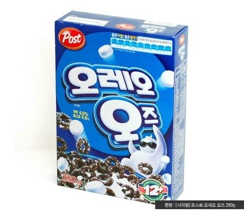 El cereal Do de Oreo solo existe en Corea del Sur