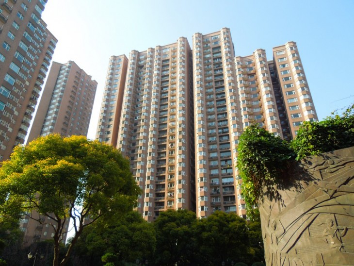 Distrito de xuhui, shangai china departamentos