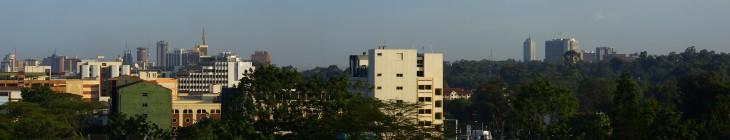 nairobi vista panoramica desde westlands