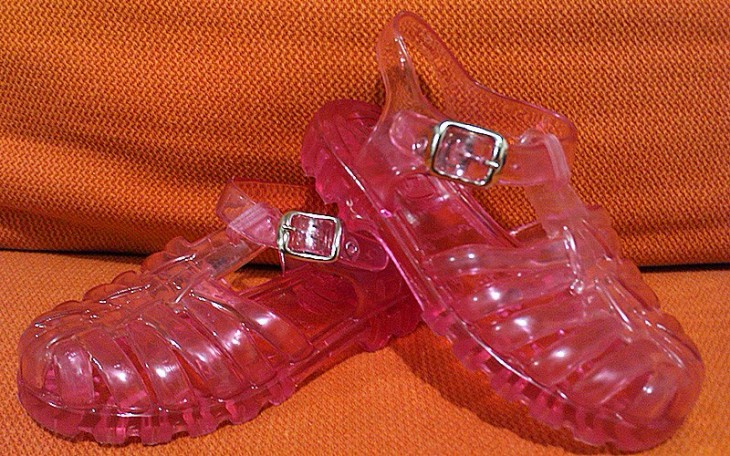 sandalias windys rosas que les gustaban a las niñas de los años noventa