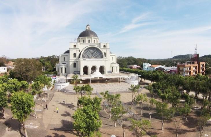 Santuario de Caacupé en Paraguay