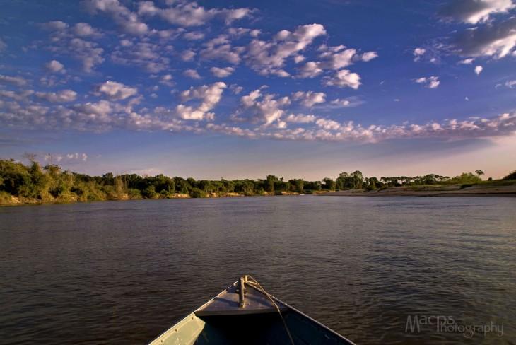 amanecer rio paraguay