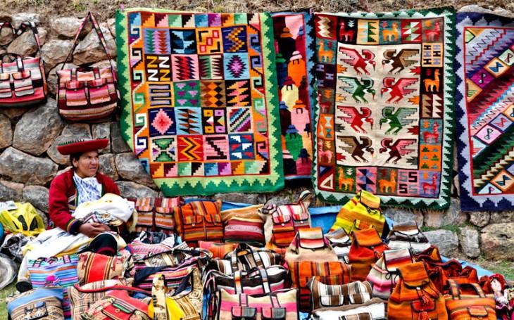 mercado de Pisac, Peru