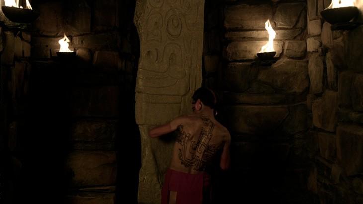 civilización chavin talladores de pieda de forma subterranea