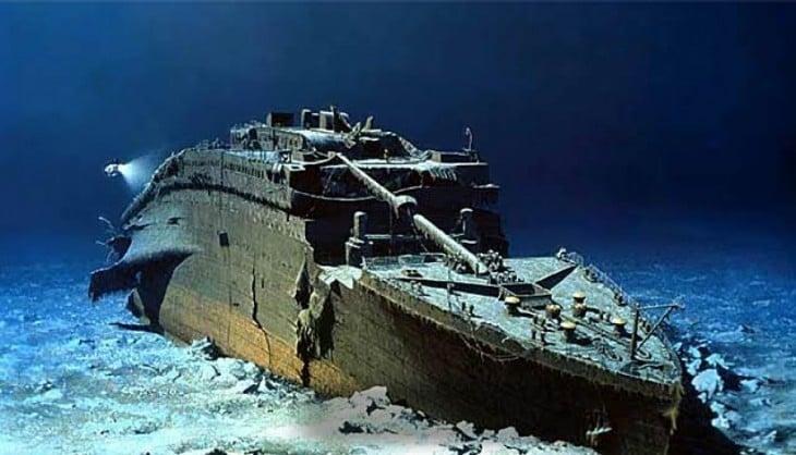 resto del titanic a 103 años de su hundimiento