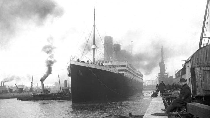 Titanic un día antes de hundirse