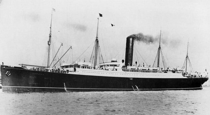 barco el californiano que auxilio a los supervivientes del titanic