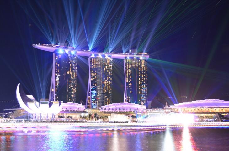 El Marina Bay Sands en Singapur es considerado el edificio más caro del mundo