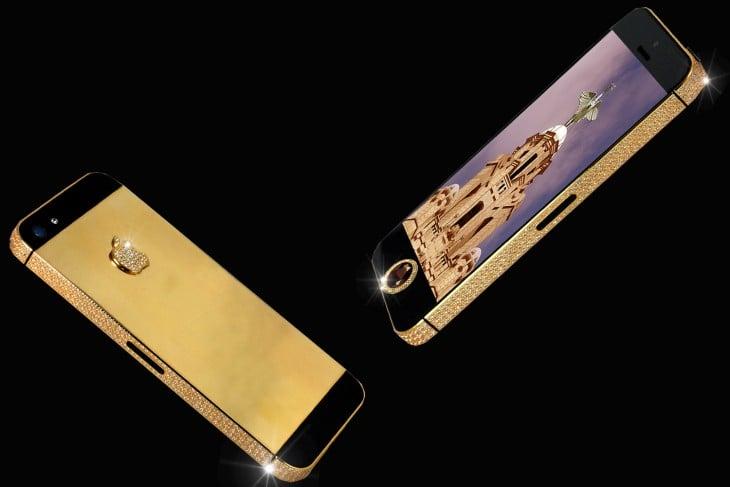 El iPhone 5 edición Diamante Negro tiene un valor de $16.5 millones