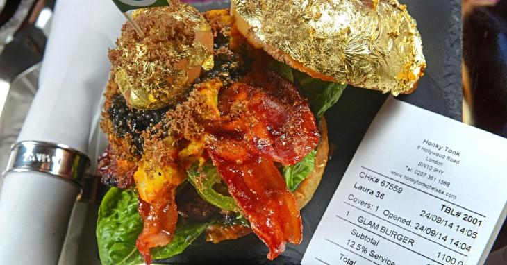 Glamburguer es considerada la hamburguesa más cara del mundo en Chelsea