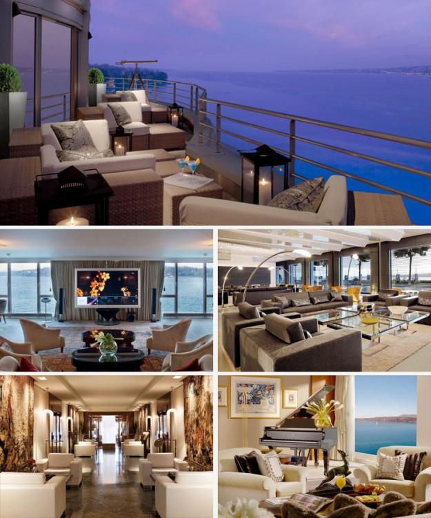 La Royal Penthouse suite del Hotel President Wilson tiene un costo de 80,000 dólares por noche