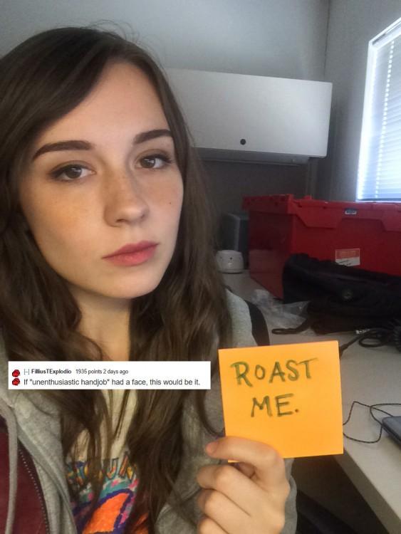 mujer que se siente bonita en reddit