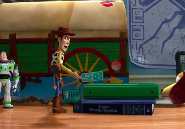 TOY STORY 3 SUPER ENCICLOPEDIA