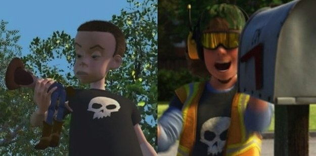 TOY STORY 3 SID