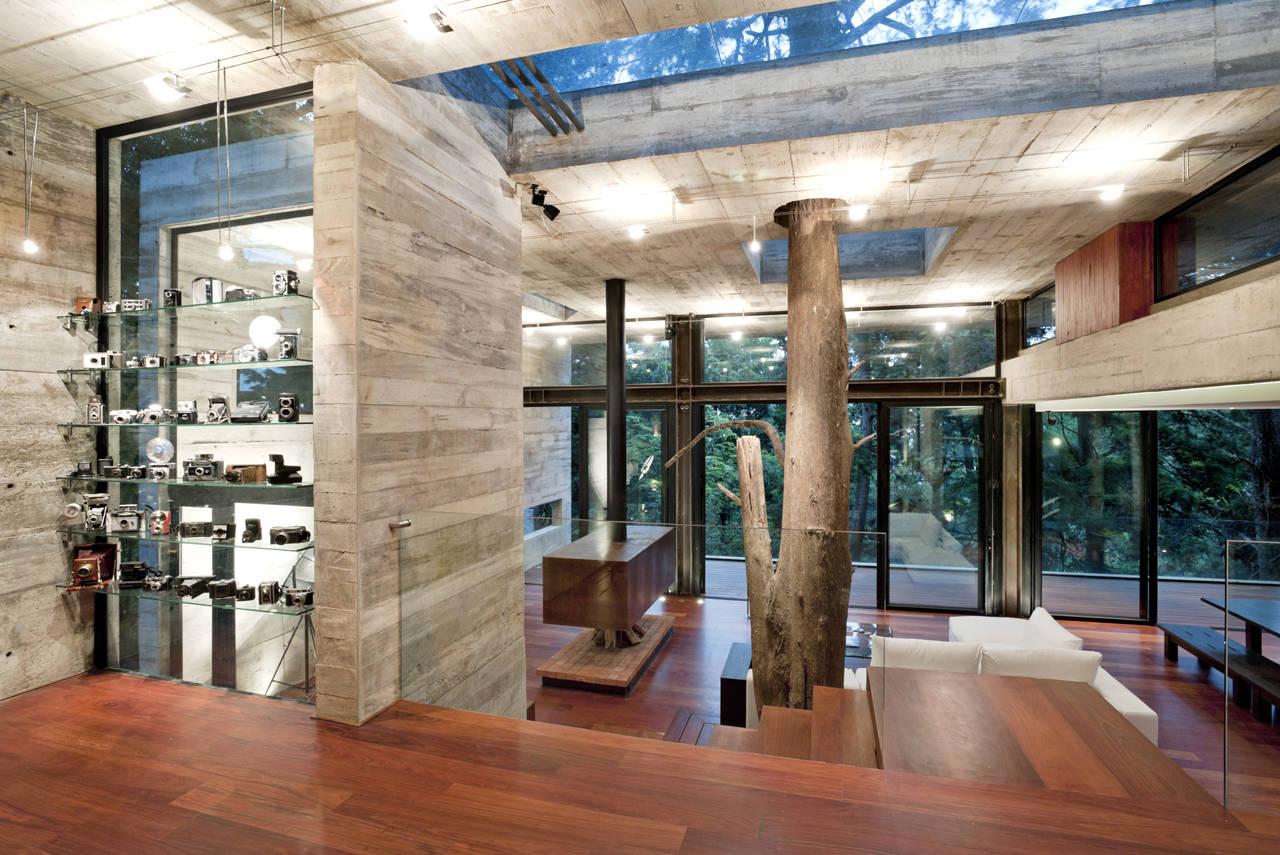 20 Construcciones Donde Cuidaron La Naturaleza Al 100