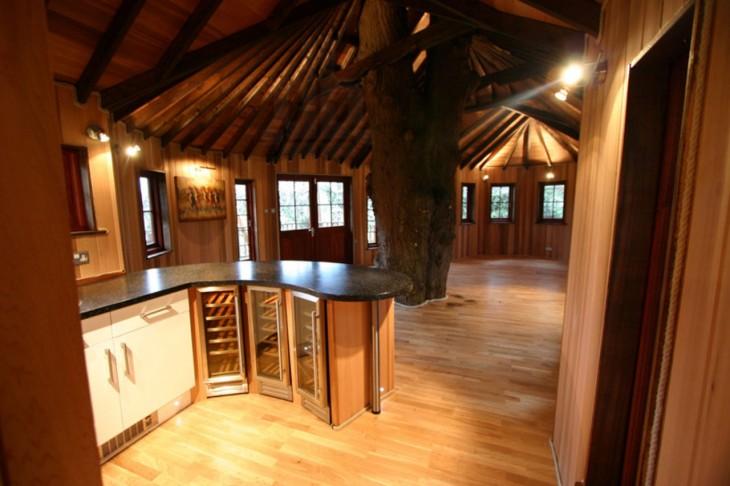 casa ambientalista deshabitada