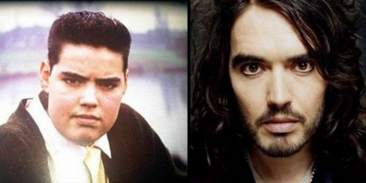 Russell Brand antes de ser famoso