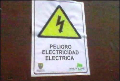 ELECTRICIDAD QUE ELECTROCUTA