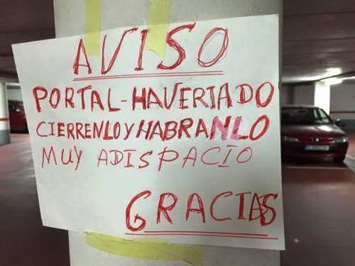 HABRANLO MUY ADISPACIO