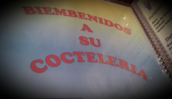 Horrores ortográficos EN UNA COCTELERIA