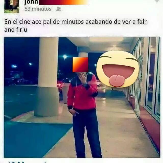 HOMBRE HACIENDO EL RIDICULO