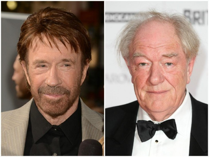 Chuck Norris y Michael Gambon