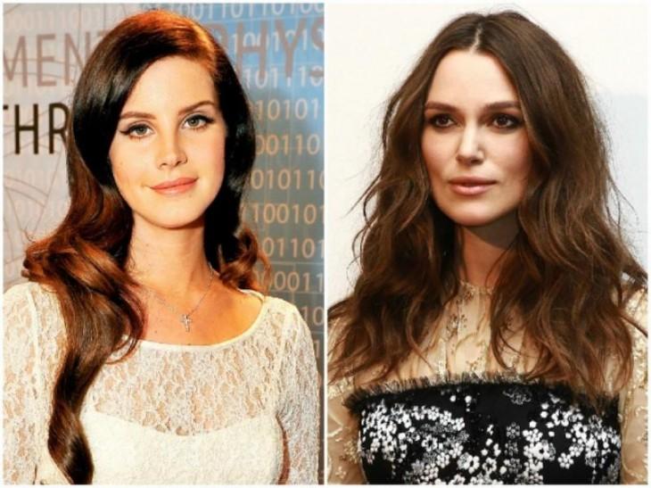 Lana Del Rey y Keira Knightley