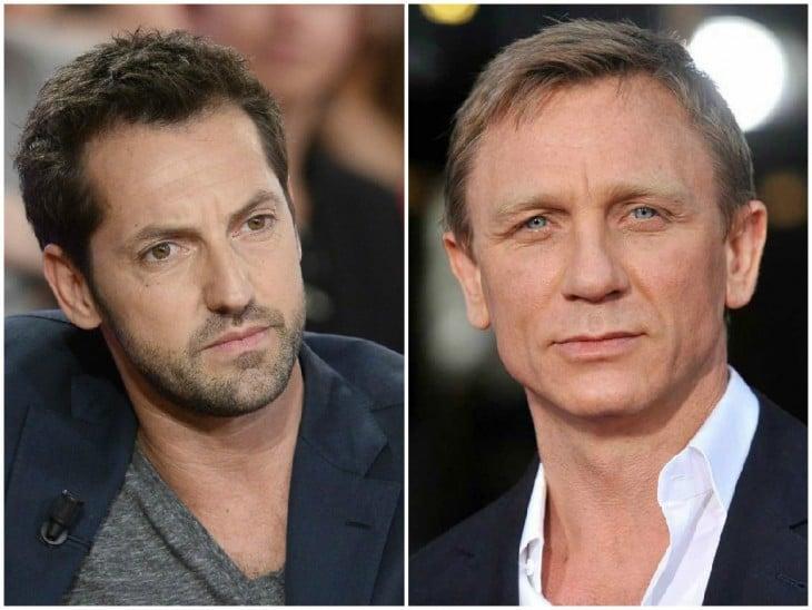 Frédéric Diefenthal y Daniel Craig