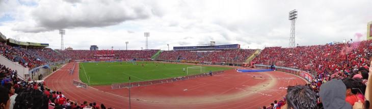 Estadio Félix Capriles en Bolivia