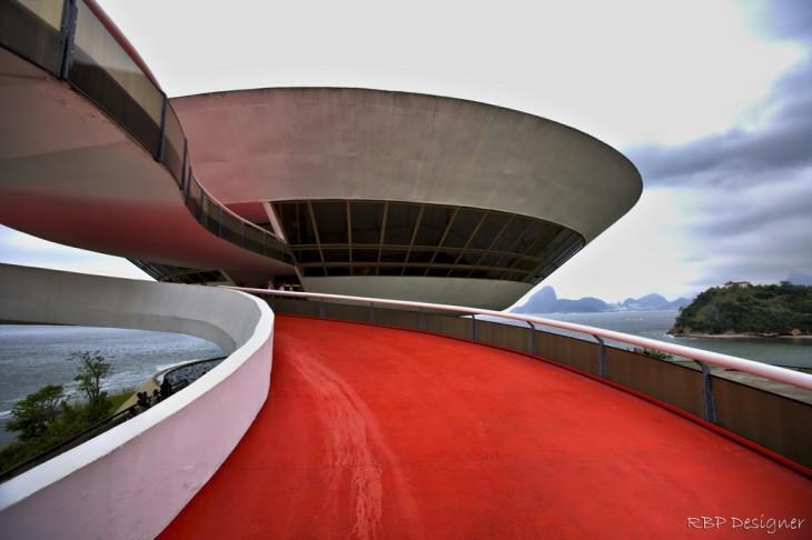 Museo de Arte de Contemporánea Niterói en Rio de Janeiro, Brasil