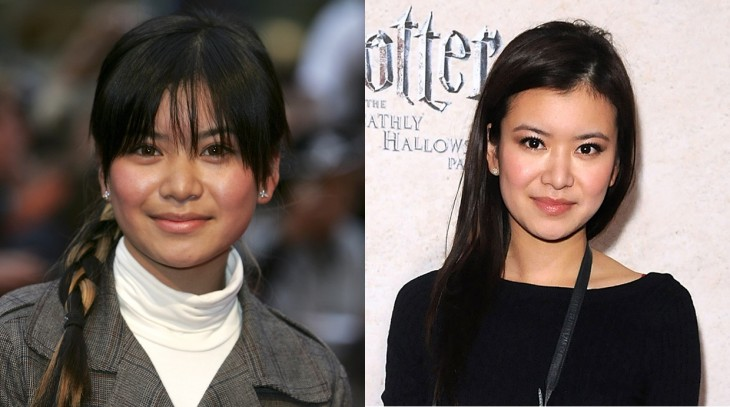 Katie Leung antes y después de su participación en las películas de Harry Potter