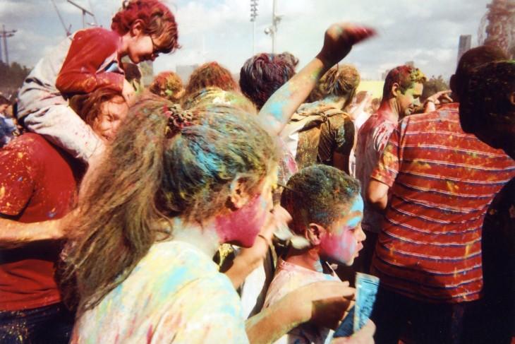 Fotografía del Festival de Color en el Parque Olímpico por Goska Calik