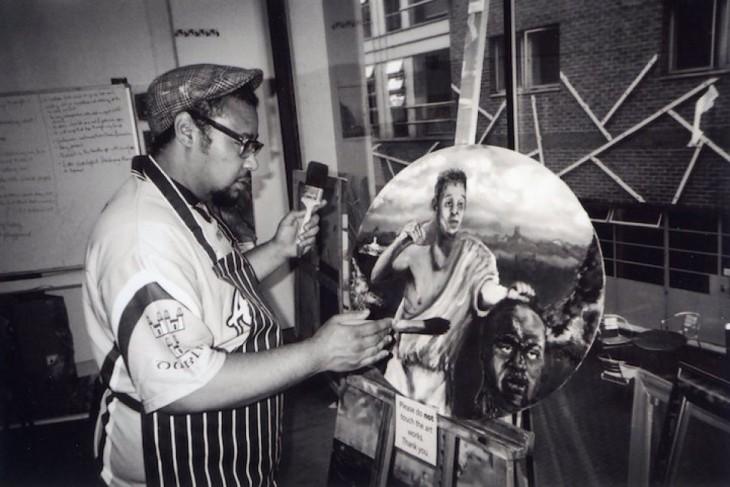 El artista Whitechapel en Londres