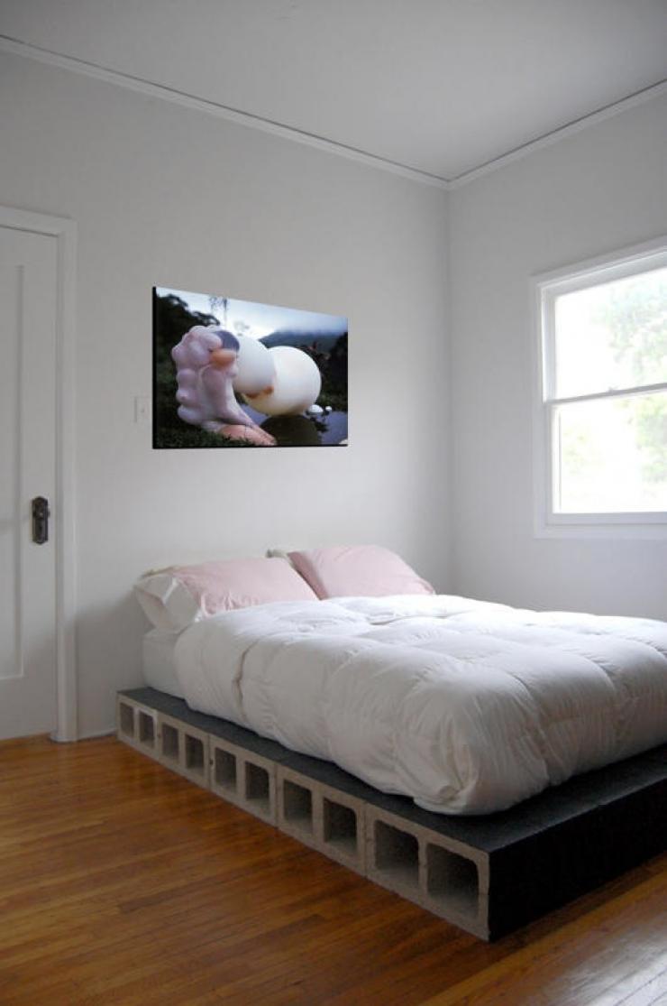 Creativas ideas para adornar tu casa con bloques de cemento for Los muebles mas baratos