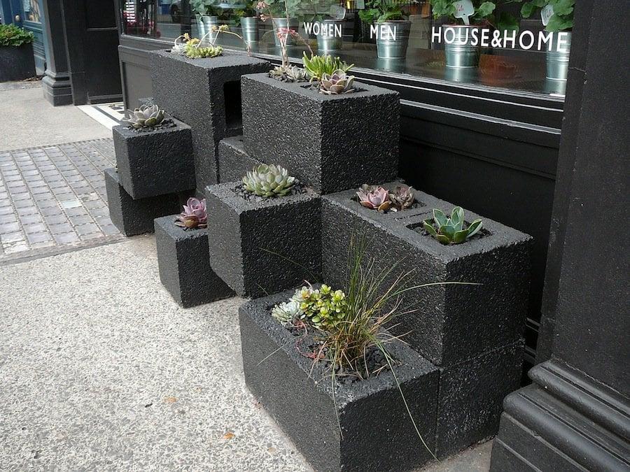 Creativas ideas para adornar tu casa con bloques de cemento - Barbacoas prefabricadas baratas ...