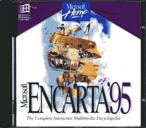 Disco de Microsoft Encarta 95