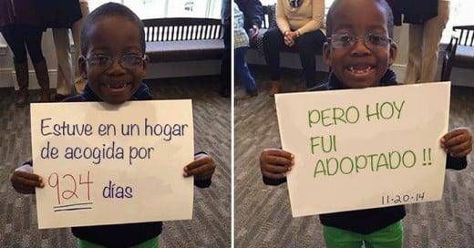 Adoptar es un gesto de bondad y caridad
