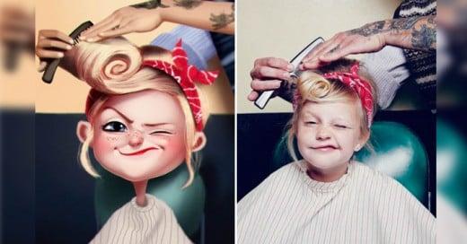 Julio César es un artista brasileño que ha creado una divertido serie de ilustraciones basadas en fotografías de personas... ¡todas tomadas al azar en internet!. Sus singulares ilustraciones se distinguen por tener un delineado sutil de brillantes colores. Todas estas caricaturas están a casi nada de tomar vida.