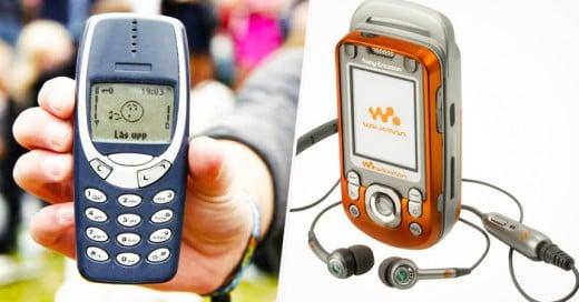 Al ver esta lista recordarás lo que en tu adolescencia significaba tener los móviles que entonces estaban de moda. Y cómo olvidarlos, si varios de estos 15 modelos fueron el primer celular que tuvimos en nuestra vida.